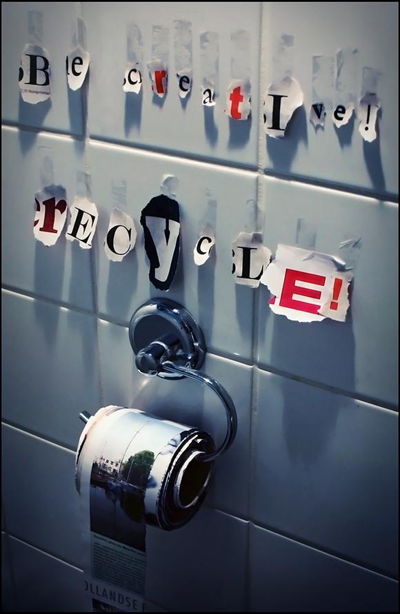 Be Creative, Recycle by ~Kamermans
