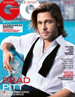 Brad Pitt | GQ May 2012 | Brad Pitt and other kings of Hollywood | GQ India