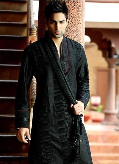 Kurta Pajamas / Cocktail Black Kurta Pyjama