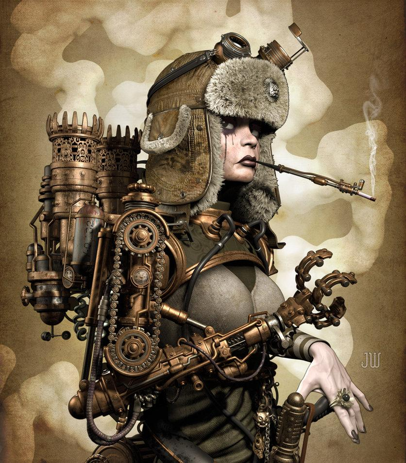 SteamGirl by ~ZephyrChef