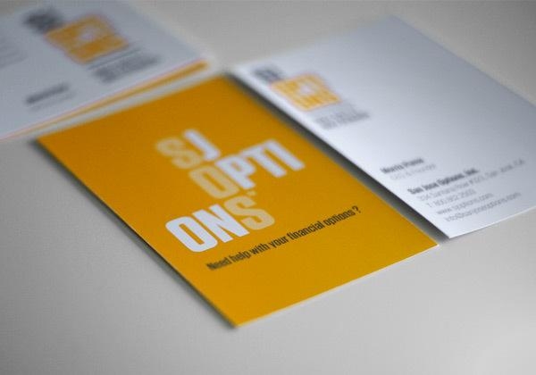 SJ Options. Brand Identity and Website Design