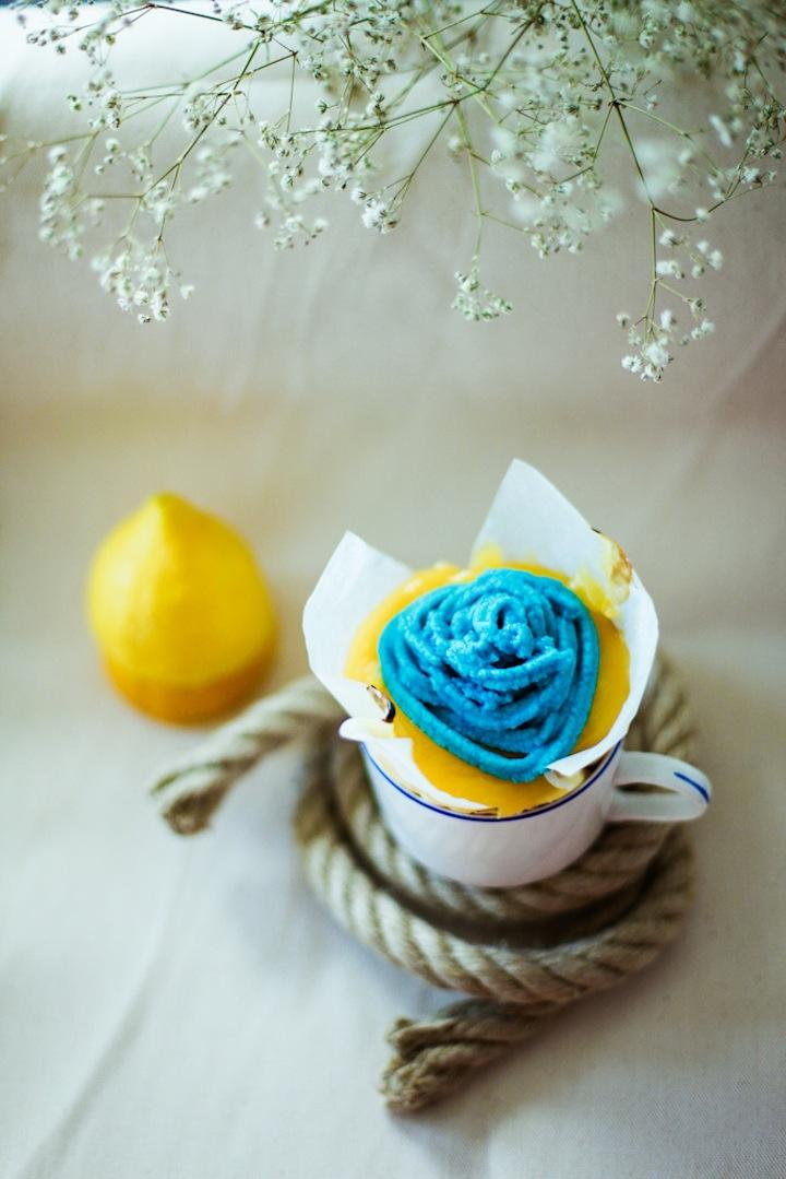 Lemon Cheese Cupcake with Butter Cream | iGNANT