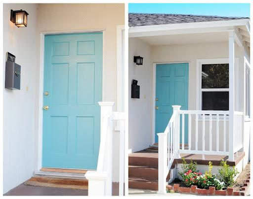 Quaintly Garcia: Teal Front Door Update