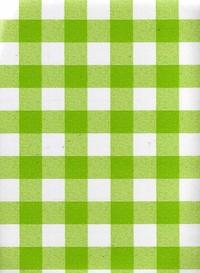 Lime Green checked - Mikes Market