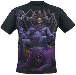 Throne - T-Shirt by Masters Of The Universe - Codice articolo: 216916 - da 19,99 € - EMP Mailorder Italia ::: La vendita per corrispondenza on line Rock Metal Punk: T-shirts, CD, DVD, Poster, abbigliamento e merchandise ufficiale