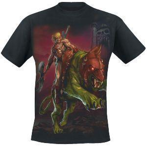Riding - T-Shirt by Masters Of The Universe - Codice articolo: 216918 - da 19,99 € - EMP Mailorder Italia ::: La vendita per corrispondenza on line Rock Metal Punk: T-shirts, CD, DVD, Poster, abbigliamento e merchandise ufficiale