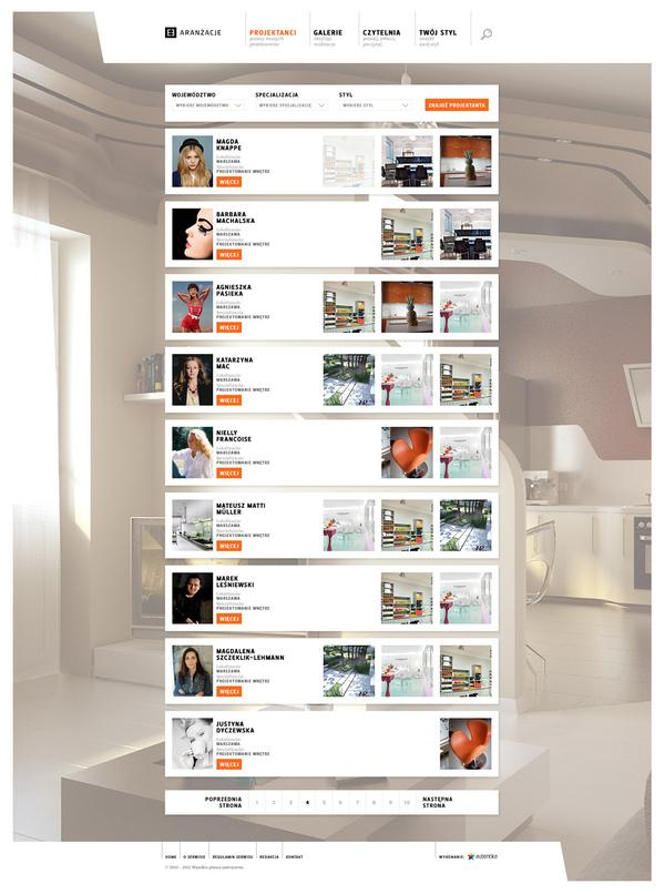 E-aranzacje.pl sur le réseau