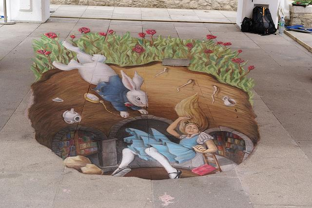 20 Magnificent and Enthralling Samples of Chalk Art | inspirationfeed.com