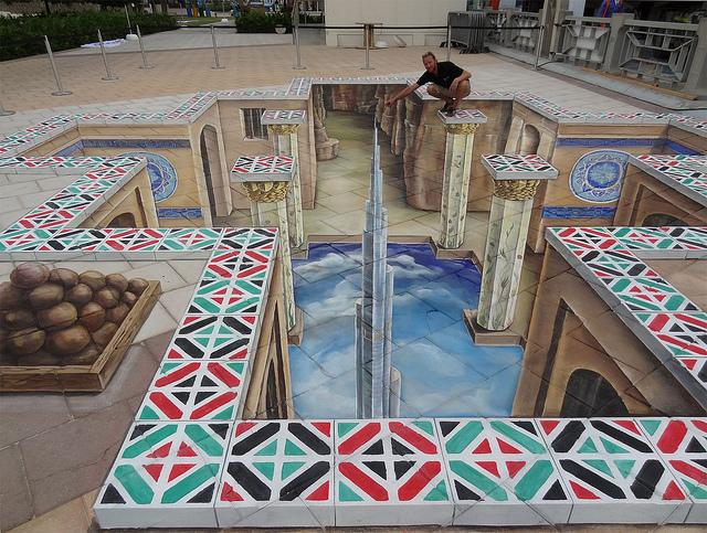 20 Magnificent and Enthralling Samples of Chalk Art   inspirationfeed.com