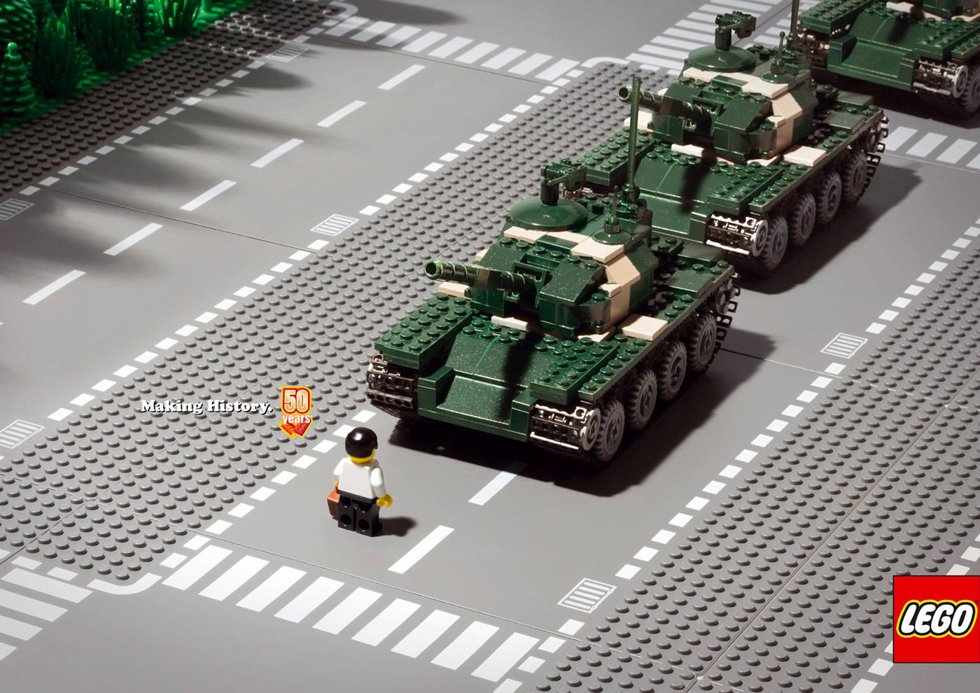 Lego: Tank | Ads of the World™