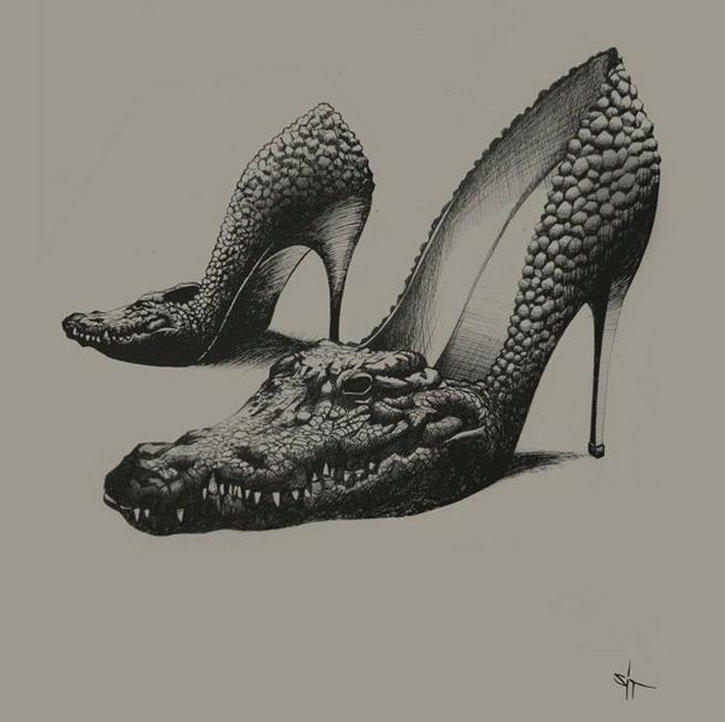Noir Series by Sit Haiiro | Abduzeedo | Graphic Design Inspiration and Photoshop Tutorials