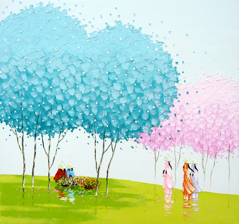 Paintings by Phan Thu Trang | Best Bookmarks