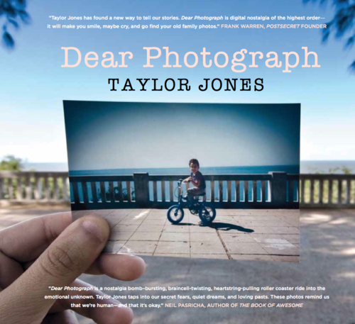 Dear Photograph Project by Taylor Jones | Abduzeedo | Graphic Design Inspiration and Photoshop Tutorials