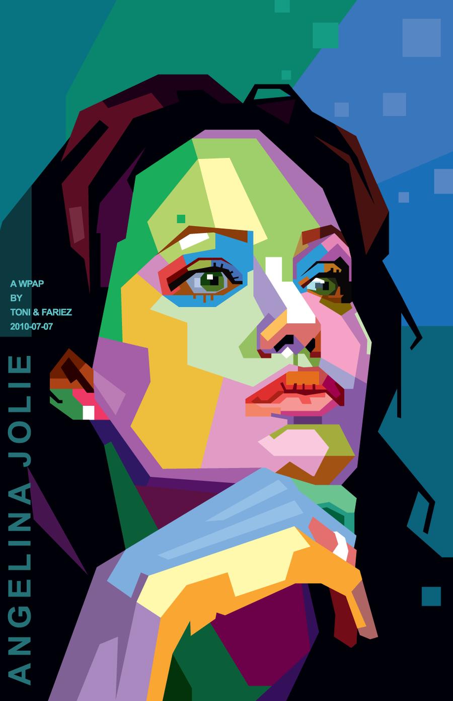 Resultados da Pesquisa de imagens do Google para http://fc09.deviantart.net/fs71/i/2010/221/a/6/Angelina_Jolie_in_WPAP_by_toniagustian.png