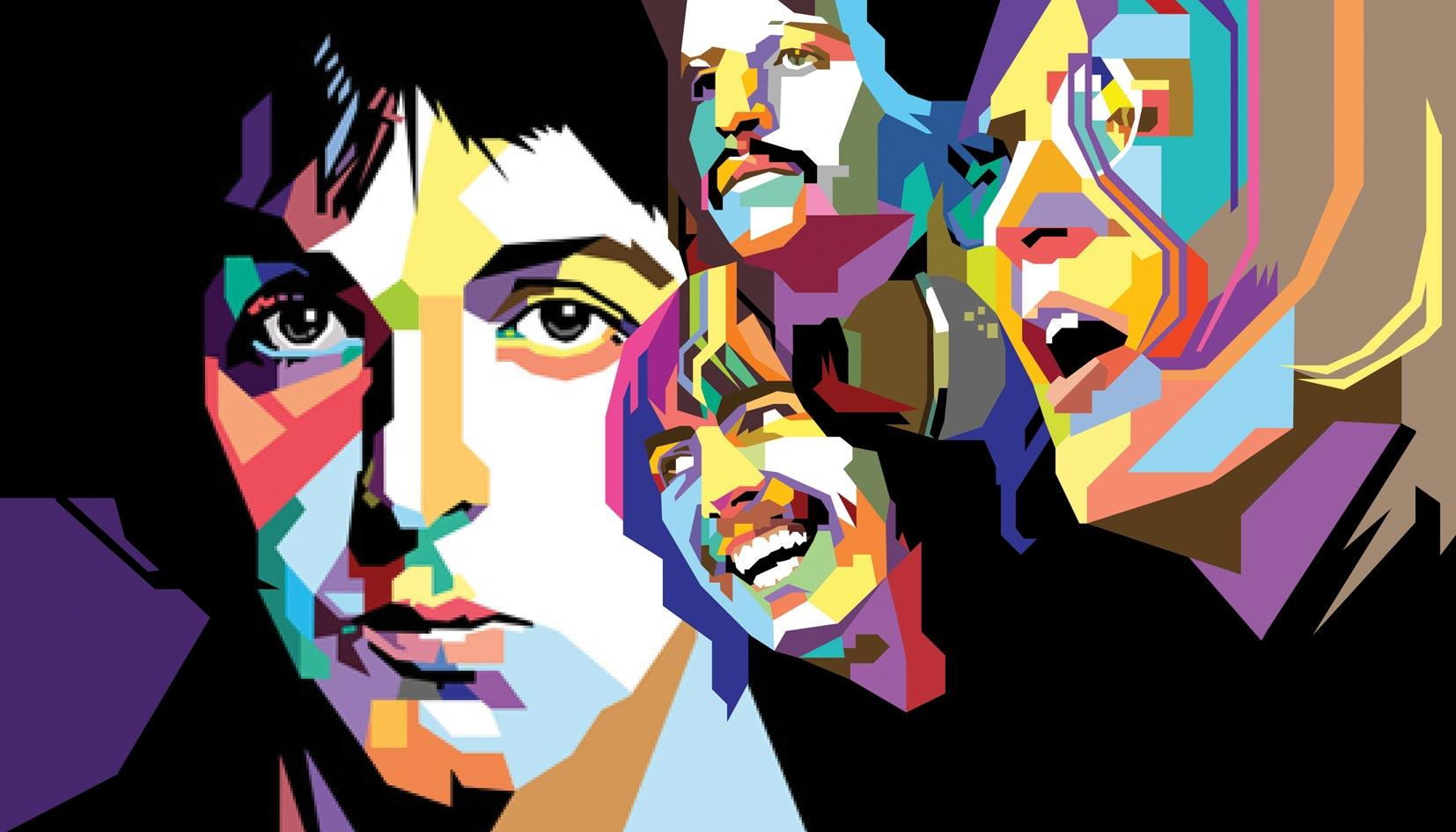 Resultados da Pesquisa de imagens do Google para http://www.deviantart.com/download/123868215/The_Beatles_in_WPAP_by_wedhahai.jpg