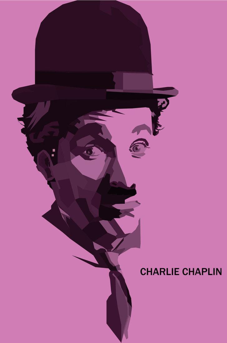 Resultados da Pesquisa de imagens do Google para http://th00.deviantart.net/fs71/PRE/i/2010/217/f/8/Charlie_Chaplin_WPAP_monotone_by_teafunny89.jpg