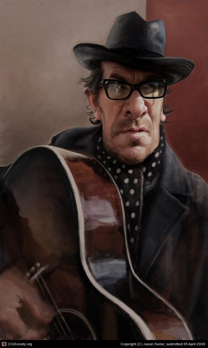 CGTalk - Elvis Costello, Jason Seiler