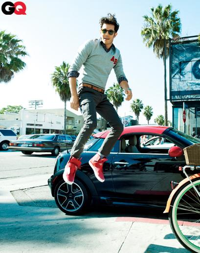 Adam Brody GQ May 2012 - Runway Looks for Less: Wear It Now: GQ