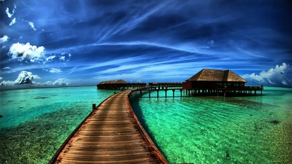 water,ocean water ocean beach houses bridges 1920x1080 wallpaper  Fantasy  Wallpaper  Free Desktop