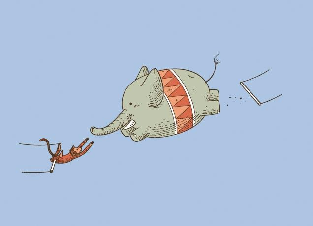 The Priceless and Hilarious Illustrations of Chow Hon Lam | inspirationfeed.com