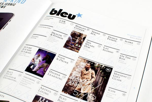 Bleu Magazine - Vol.III Issue 18