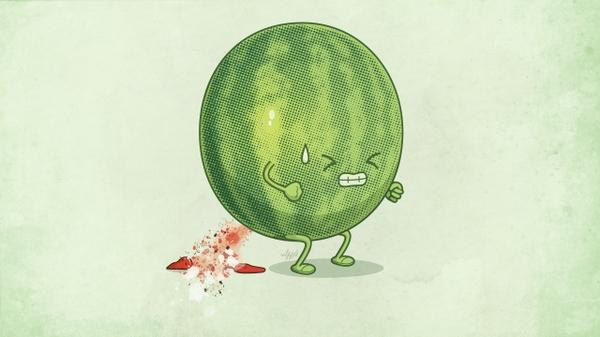 funny,humor humor funny watermelons cartoonish 2560x1440 wallpaper – Humor Wallpaper – Free Desktop Wallpaper