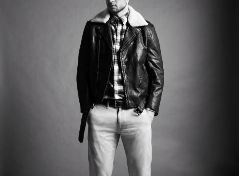 The my-wardrobe leather jacket shoot. « @Troy_Munns