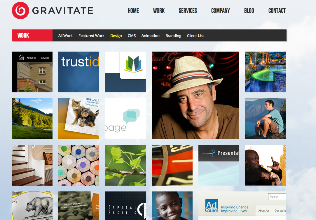 Gravitate Website
