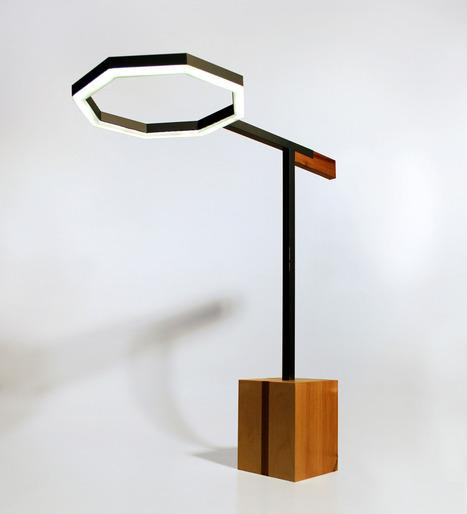 Tangle Lamp by Vincent Clarizio and Caroline Deforges