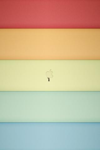 Apple Color Shades iPhone Hd Wallpaper Free iPhone Wallpapers and Backgrounds | WallpaperLa