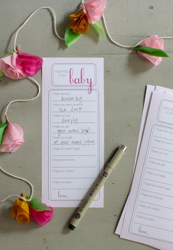 1st Birthday Party Ideas / Wishes for baby....could be done at 1st birthday