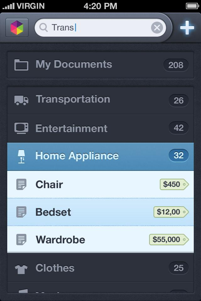 40 Quality Examples of iOS User Interface Designs   inspirationfeed.com