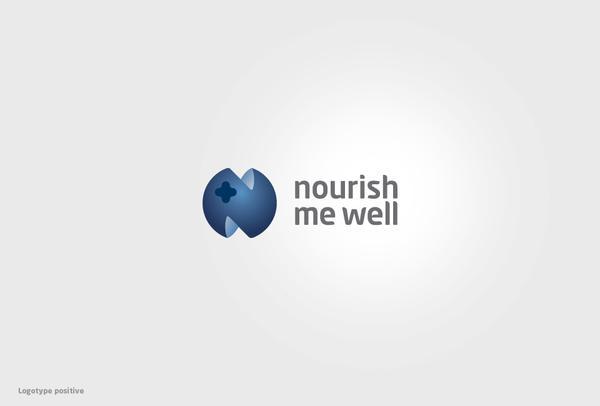 Me nourrir bien - logo et identité visuelle sur le réseau