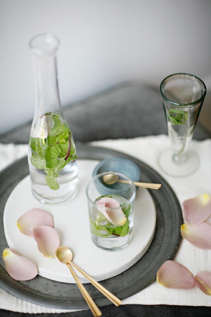 Minted Rose Water :: Trad Home Shoot Â« sundaysuppers