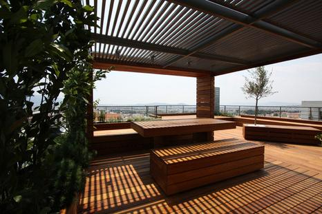 roof garden on Architecture Served