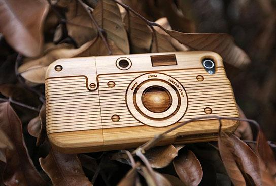 tech@mikeShouts | SigniCASE: natural wood case for your iPhone 4 | it's a tech lifestyle