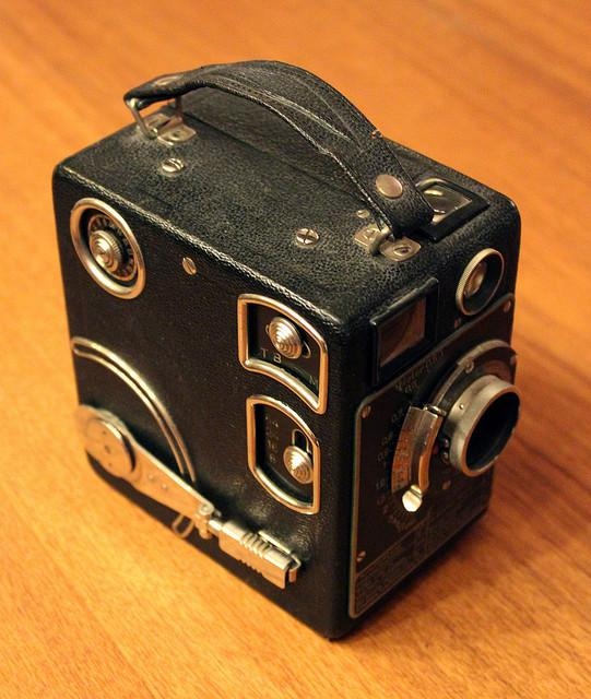 Siemens 16 mm, a 75 year old veteran. | Flickr - Photo Sharing!