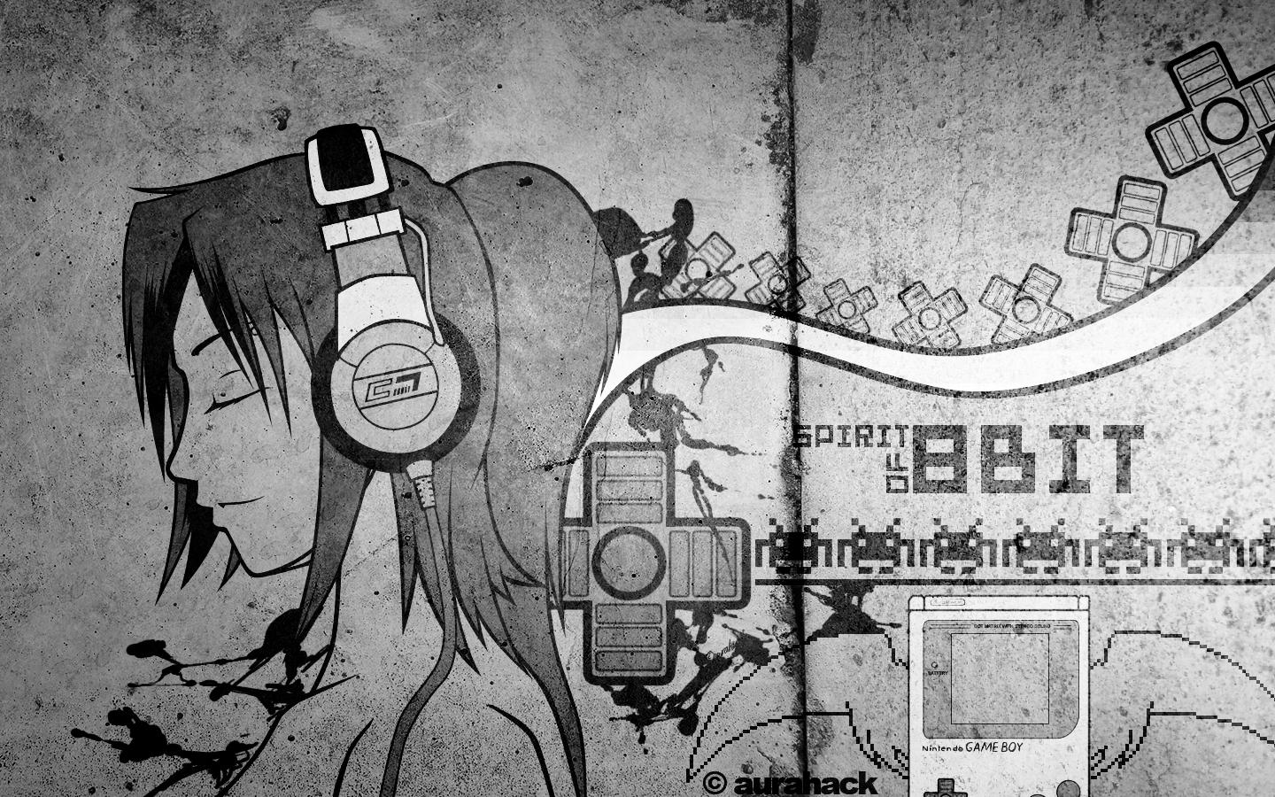 music headphones girl spirit electronics - Wallpaper (#251880) / Wallbase.cc