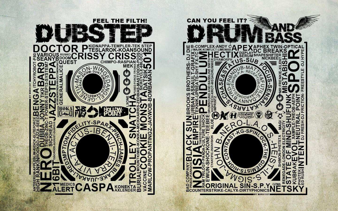 music speakers typography dubstep drum and bass - Wallpaper (#1333557) / Wallbase.cc