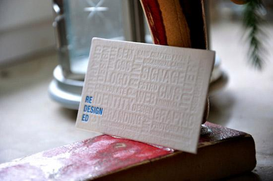 Letterpress Business Cards | CardRabbit.com - Part 9