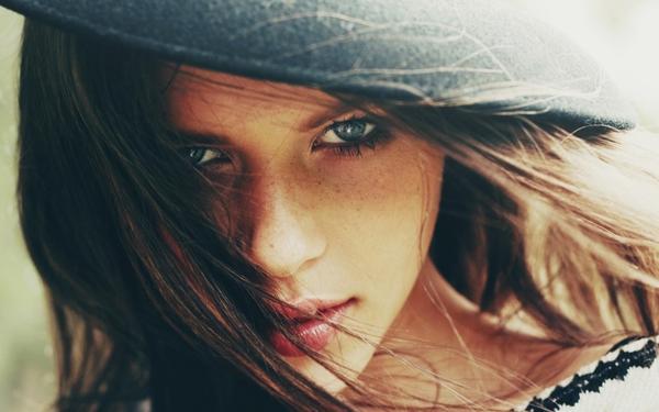 brunettes,women brunettes women closeup eyes vintage blue eyes photography portrait freckles faces nirrimi hakanson – Photography Wallpaper – Free Desktop Wallpaper