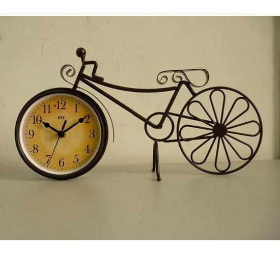 For the Home / Old bicycle bike clock