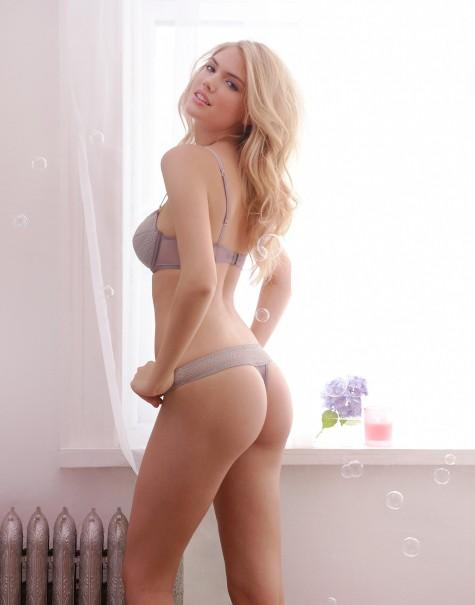 Piccsy :: Kate Upton – Jenna Leigh Lingerie Spring/Summer 2011 Campaign