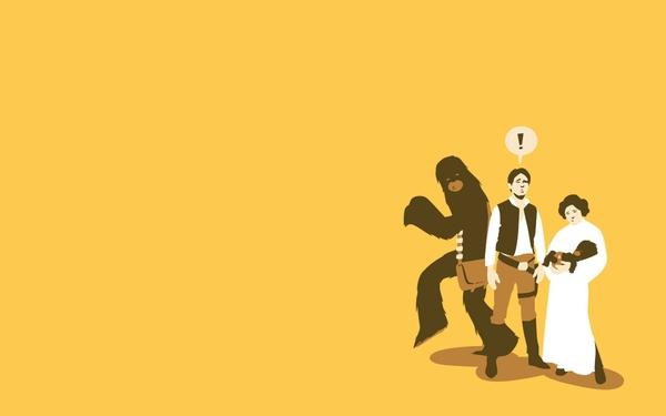 Star Wars,yellow star wars yellow son han solo chewbacca leia organa 1440x900 wallpaper – Stars Wallpaper – Free Desktop Wallpaper