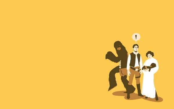 Star Wars,yellow star wars yellow son han solo chewbacca leia organa 1440x900 wallpaper – Stars Wallpaper – Free Desktop Wallpaper
