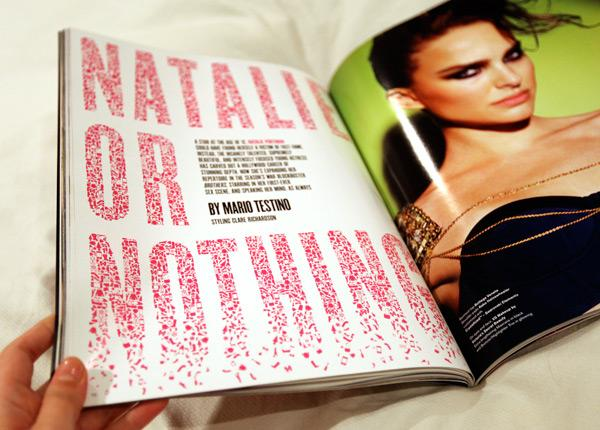 V Magazine Object Font