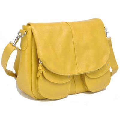 Betsy mustard women's camera bag by Jo Totes