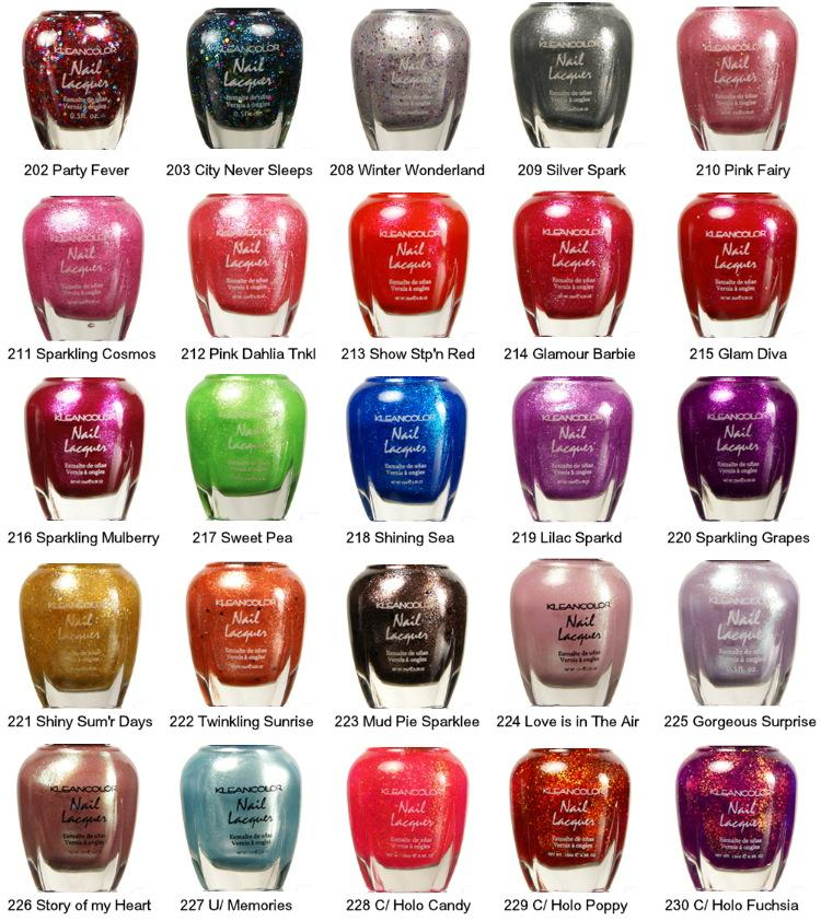 KLEANCOLOR Nail Lacquer #91739 on Wookmark