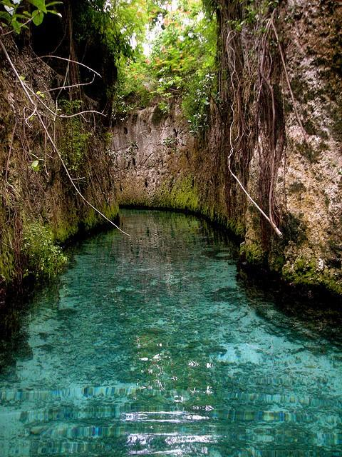 Travel loves / The underground rivers at Xcaret. I was so there, but didn't do this part. I must go back.