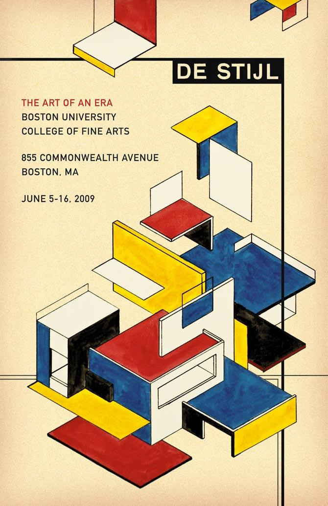 De Stijl: The Art Of An Era - Michael Deal ? Graphic Design